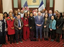 New York City Council in May 2018
