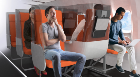 How airplane seats could look in the post-coronavirus era