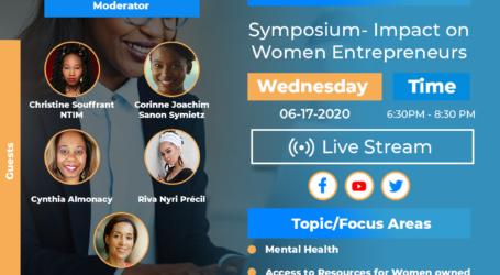 NAAHP's COVID-19 Symposium – Impact on Women Entrepreneurs