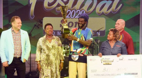 Buju Wins Jamaica Festival Song Competition 2020