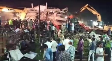 India Building Collapse, Dozens Feared Trapped