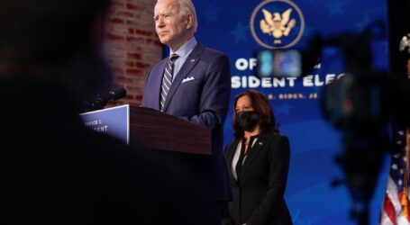 "$900 billion pandemic relief plan merely a ""down payment"" for incoming Biden administration"