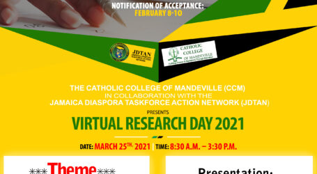 CCM and JDTAN partner to present – Virtual Research Day 2021